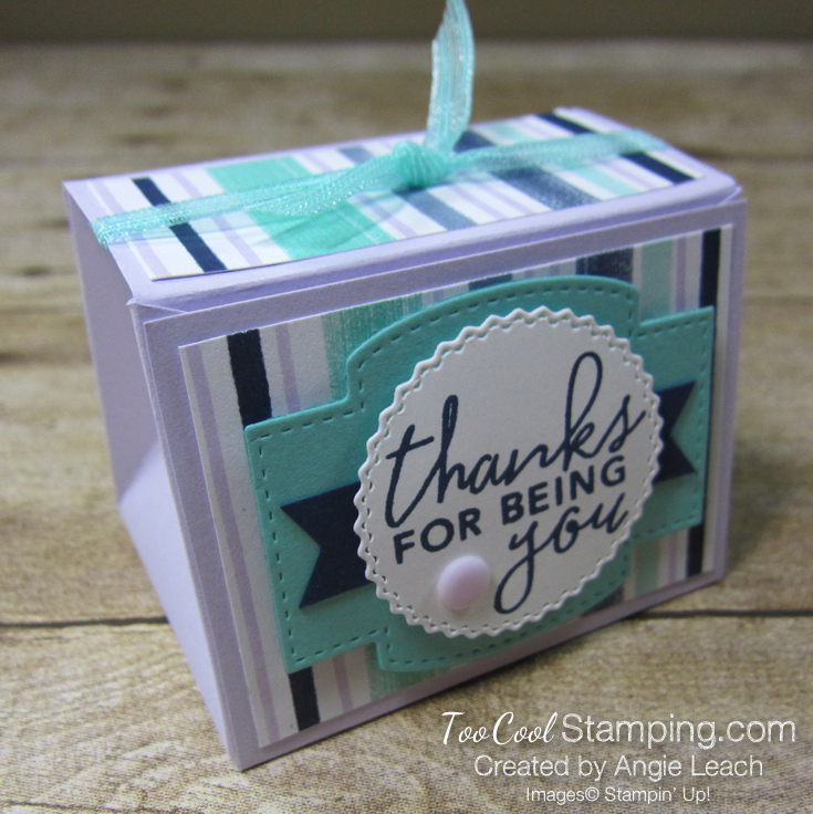 Playing with patterns tapered boxes - posy