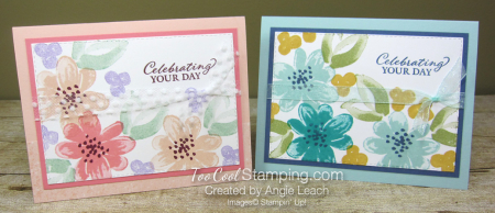 Gorgeous Posies Kit Cards - Celebrating Your Day two cool