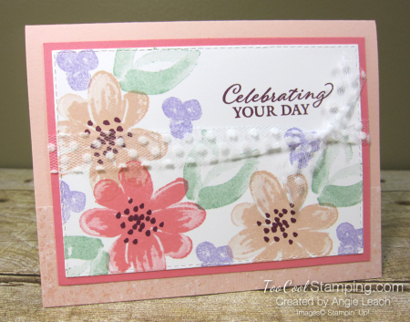 Gorgeous Posies Kit Cards - Celebrating Your Day 1