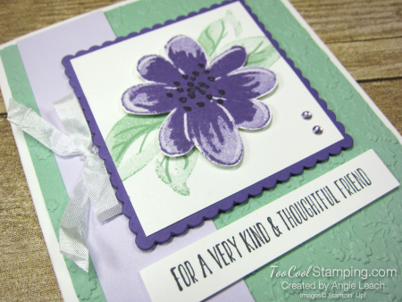 Gorgeous Posies Kit Cards - Thoughtful Friend 2
