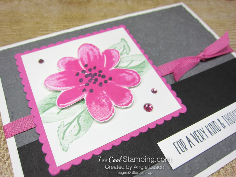 Gorgeous Posies Kit Cards - Thoughtful Friend gray 2