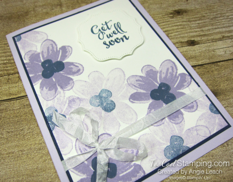 Gorgeous Posies Kit Cards - Get Well Soon 2