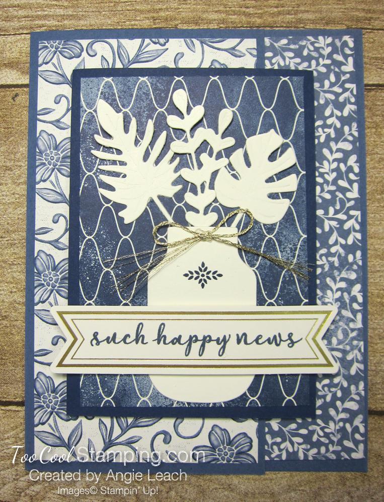 Boho indigo vanilla elements - such happy news 1