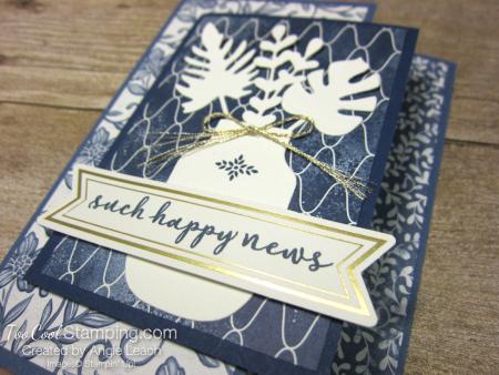 Boho indigo vanilla elements - such happy news 2