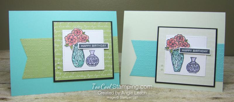 Vibran Vases Happy Birthday Cards - two cool
