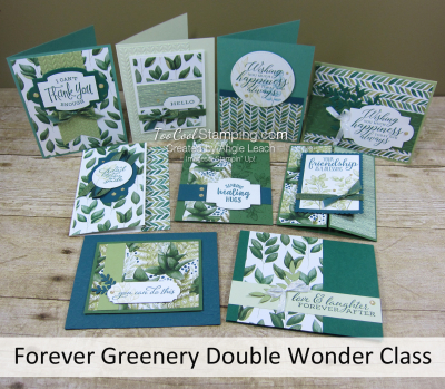 Forever Greenery Double Wonder Class