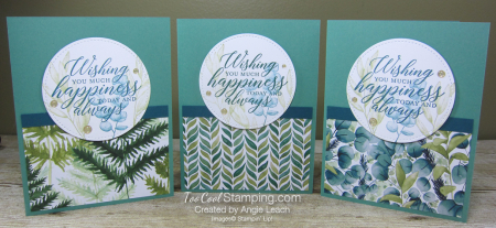 Forever Greenery - Wishing You Happiness Circle trio