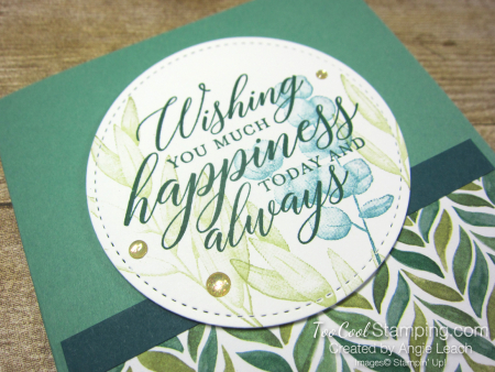 Forever Greenery - Wishing You Happiness Circle 2