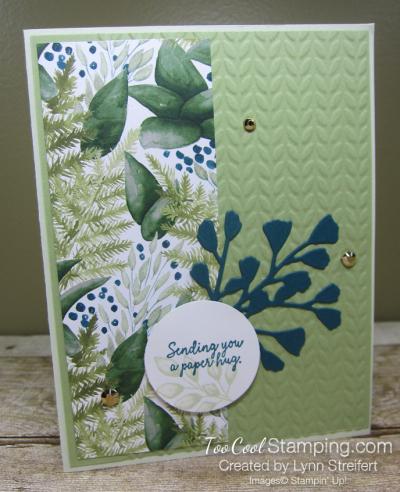 Forever Greenery Paper Hug - Streifert 1
