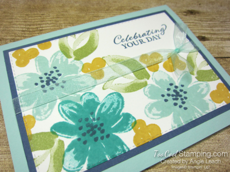 Gorgeous Posies Kit Cards - Celebrating Your Day pool 2