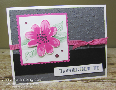 Gorgeous Posies Kit Cards - Thoughtful Friend gray 1