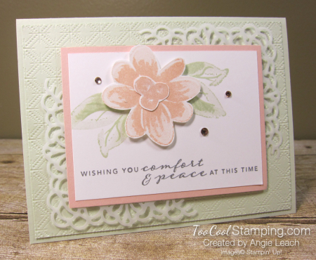 Gorgeous Posies Kit Cards - Comfort & Peace 1
