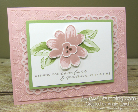 Gorgeous Posies Kit Cards - Comfort & Peace blusing 1