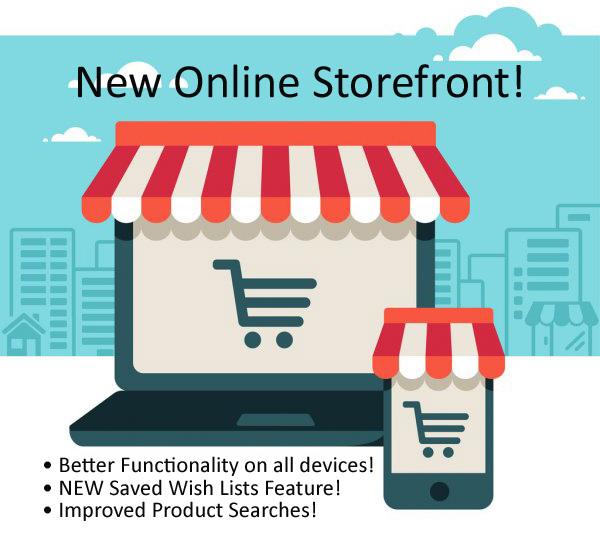 New online storefront
