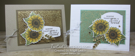 Celebrate Sunflowers You Are Loved - two cool
