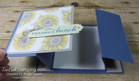 Celebrate Sunflowers Double Z Gate Fold - Misty 4