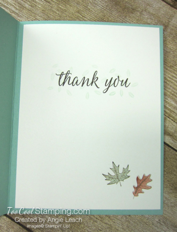 Beautiful autumn grateful heart - mint 3