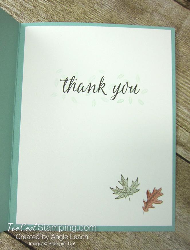 Beautiful autumn grateful heart - mint 3