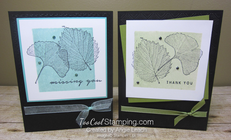 Loyal Leaves Color Block Background - two cool