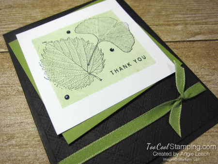 Loyal Leaves Color Block Background - old olive 2