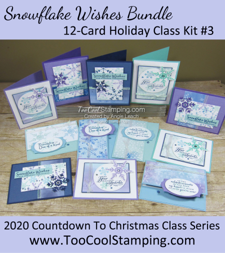 Snowflake Wishes CTC 12-Card Class Banner 2
