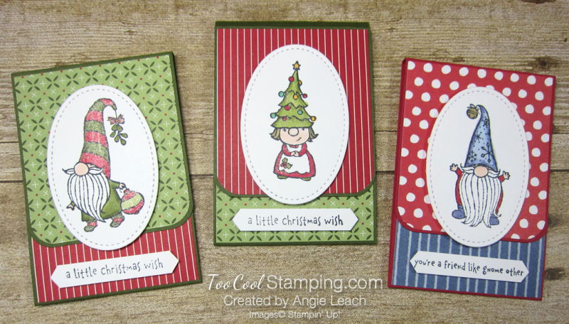 Gnome For The Holidays Gift Card Holder - three cool