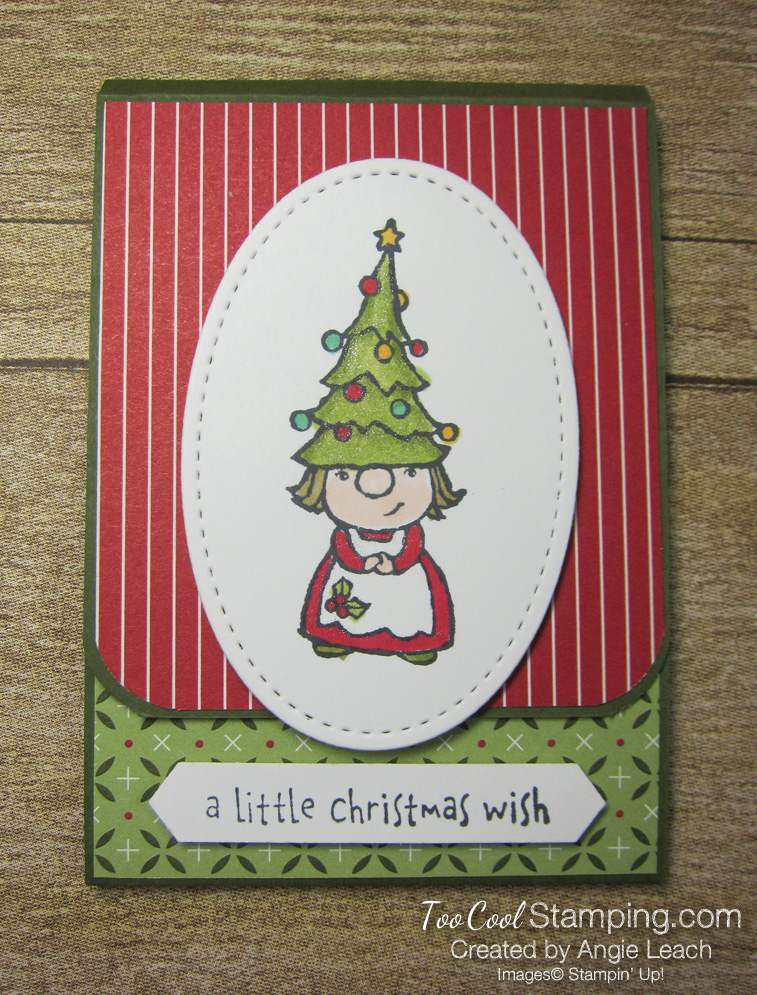 Gnome For The Holidays Gift Card Holder - girl