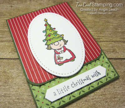 Gnome For The Holidays Gift Card Holder - girl 2
