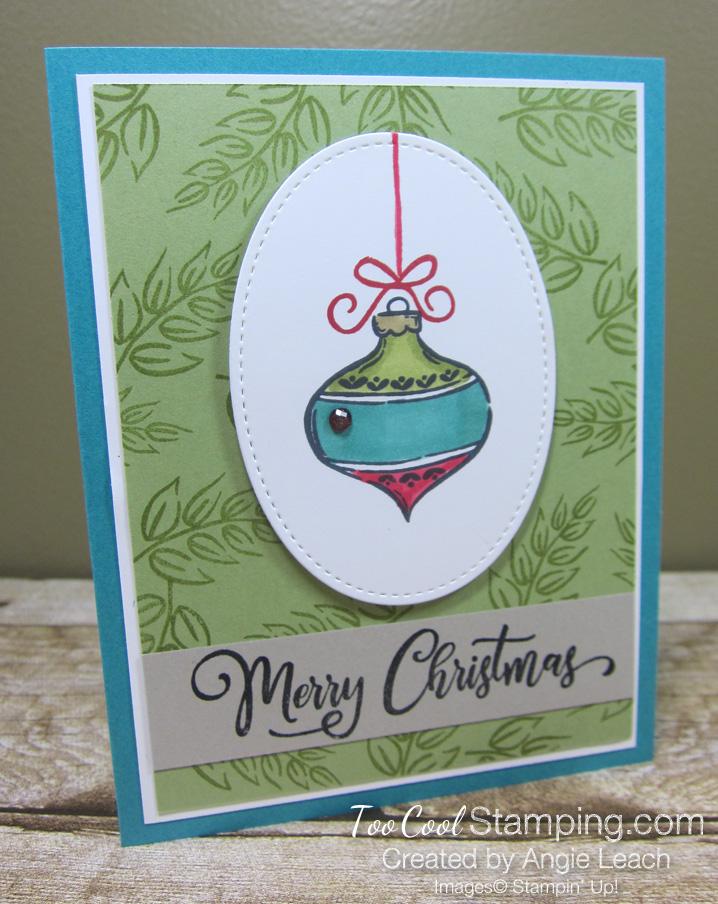 Tag Buffet Merry Christmas Ornament - bermuda