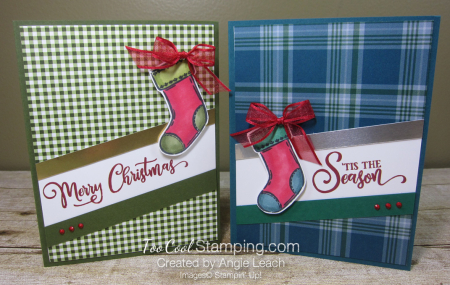 Tag Buffet Merry Christmas Stocking - two cool