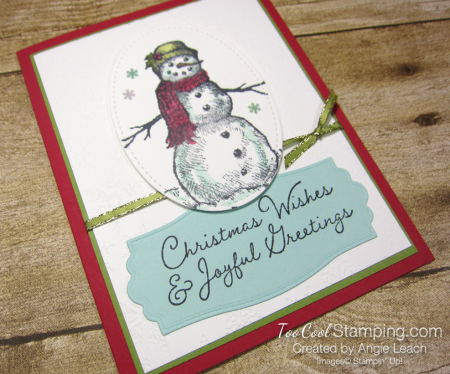 Snow wonder christmas wishes - olive 2