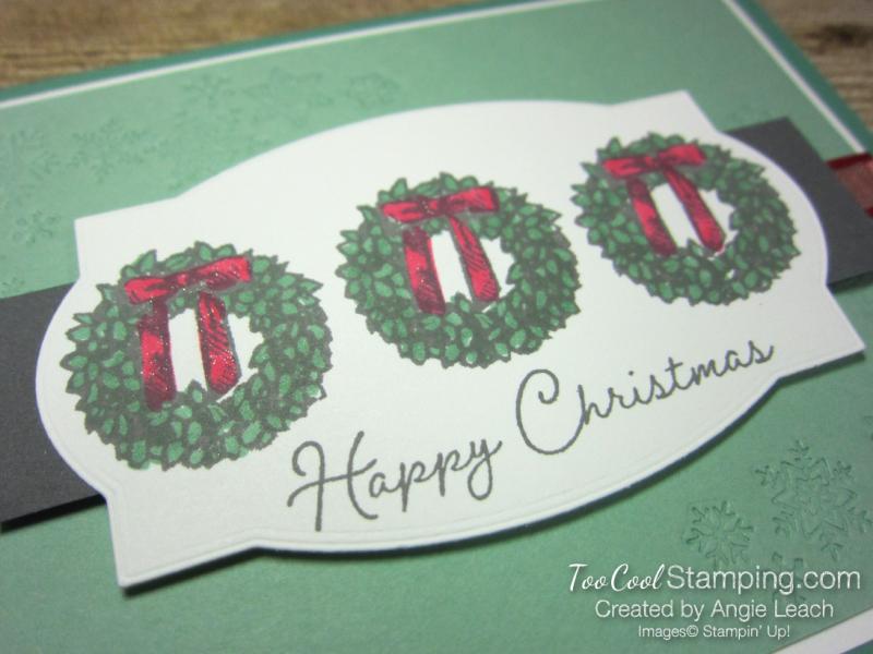 Snow wonder wreath happy christmas - jade 2