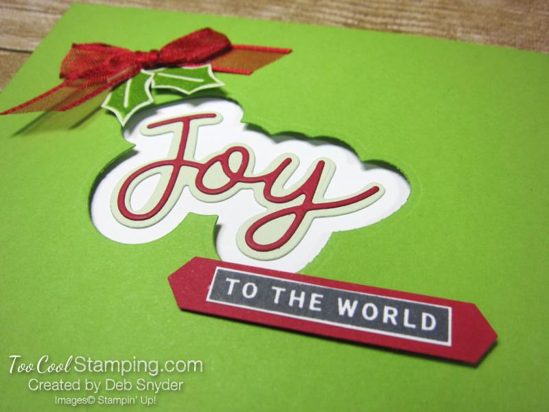 Peace and joy pocket card - 3