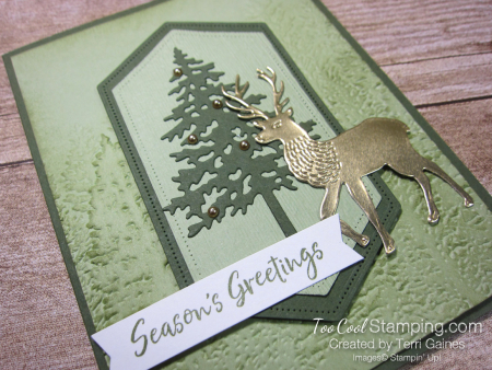 Evergreen deer - gaines 2
