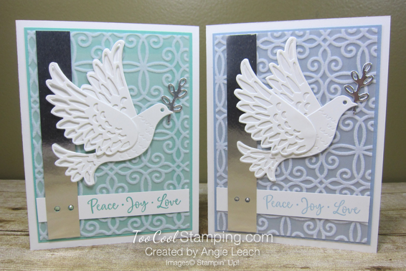 Dove of hope diecut dove - two cool
