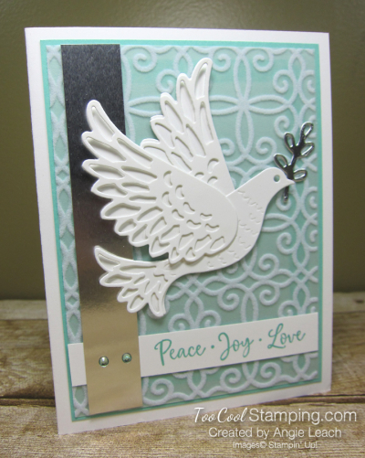 Dove of hope diecut dove - coastal cabana