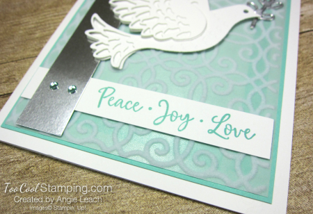 Dove of hope diecut dove - coastal cabana 4