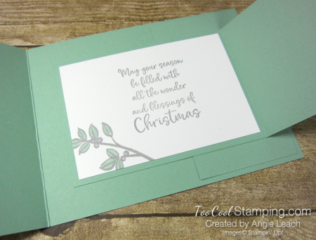 Dove of hope joy fold - mint 3