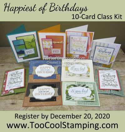 Happiest of Birthdays 10 card class banner