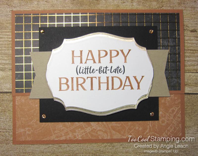 Happiest of Birthdays little late - cider
