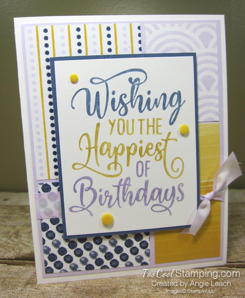 Happiest of Birthdays blocking - misty