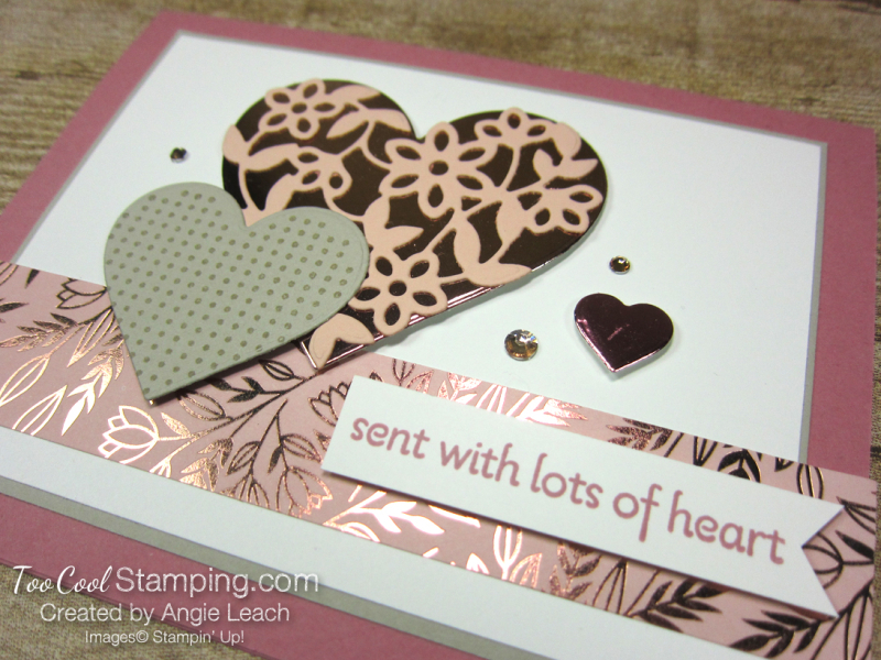 Sent with lots of heart - rose2