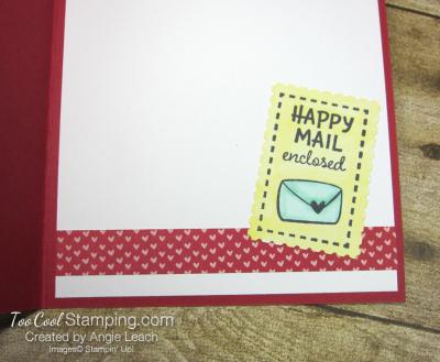 Snail mail hello envelope 3