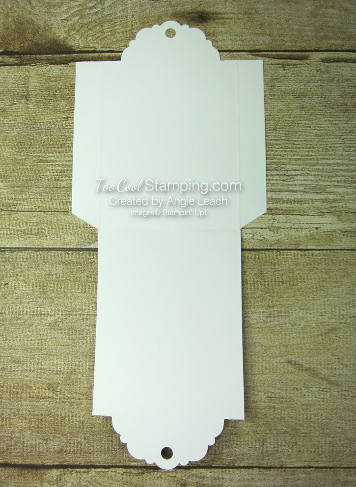 Delightful tag topper pouch template