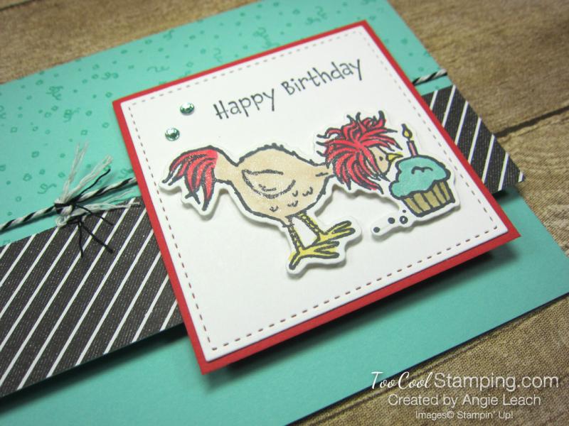 Hey birthday chick cupcake 2