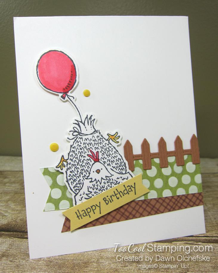 Birthday chick balloon fence - olchefske 1