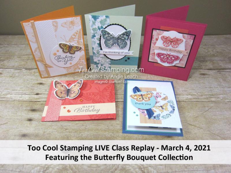 Butterfly Bouquet LIVE Class Banner