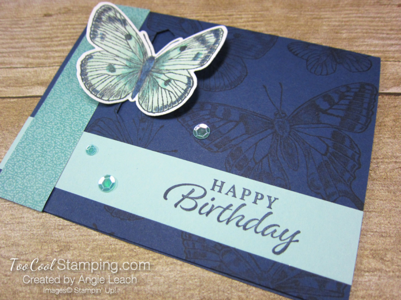 Butterfly Brilliance Emerging Butterfly Cards - navy 5