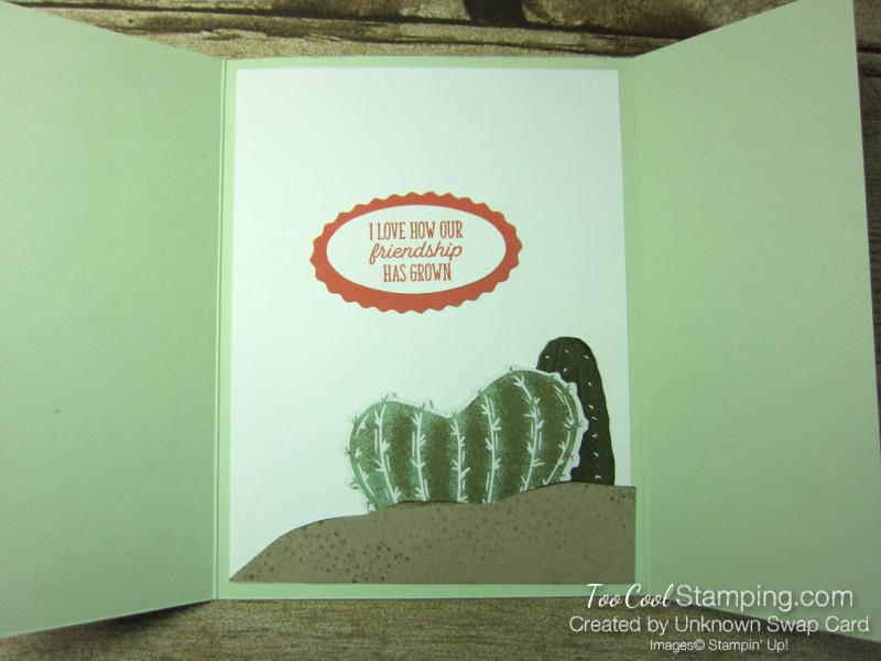 Flowering cactus gate fold - 3