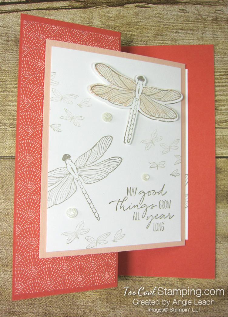 Dragonfly garden z-fold - dandy 1